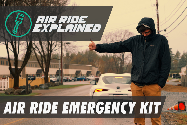 Air Ride Emergency Kit - Why you need one