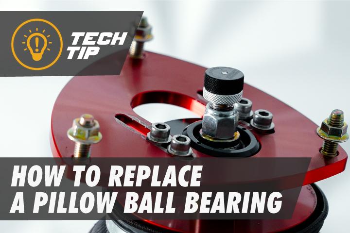 Diagnosing and replacing a bad pillowball bearing